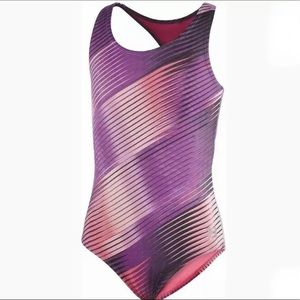 Under Armour Youth Girls One Piece Swimsuit 16